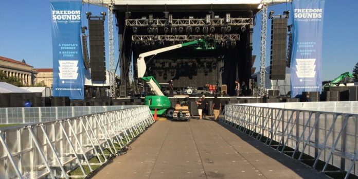 Crowd Control Barriers and Summer Concerts 1