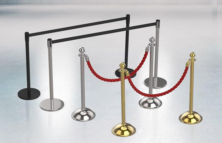 what is a stanchion types