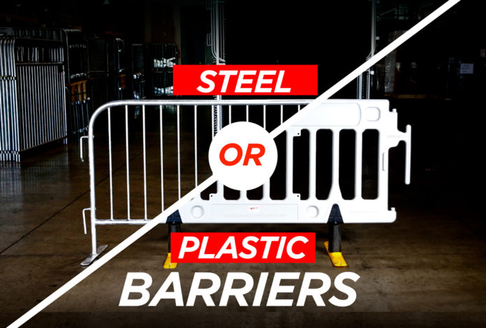steel or plastic