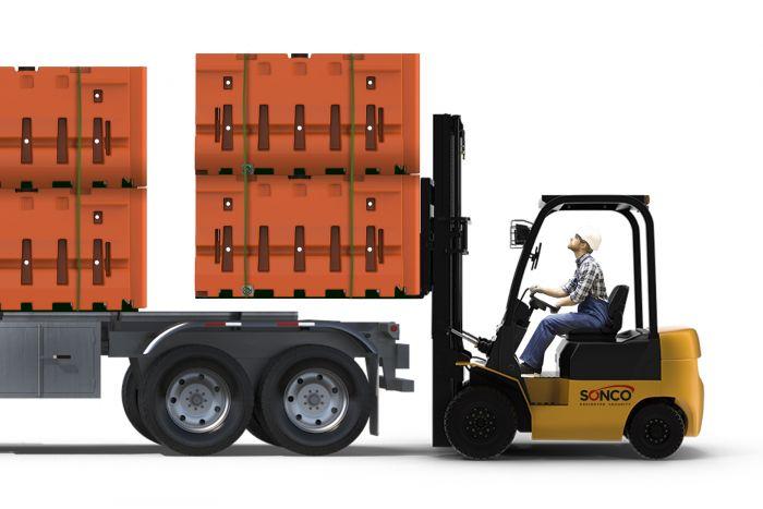 water barrier safeguard42 truckload