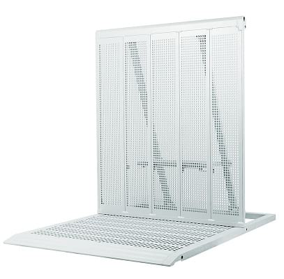crowd control and crowd management stage barrier