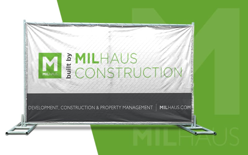 milhaus custom sign design by Sonco team