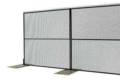Anti Scale - Scalable- Fortress™ Anti-scale Portable Security Fence