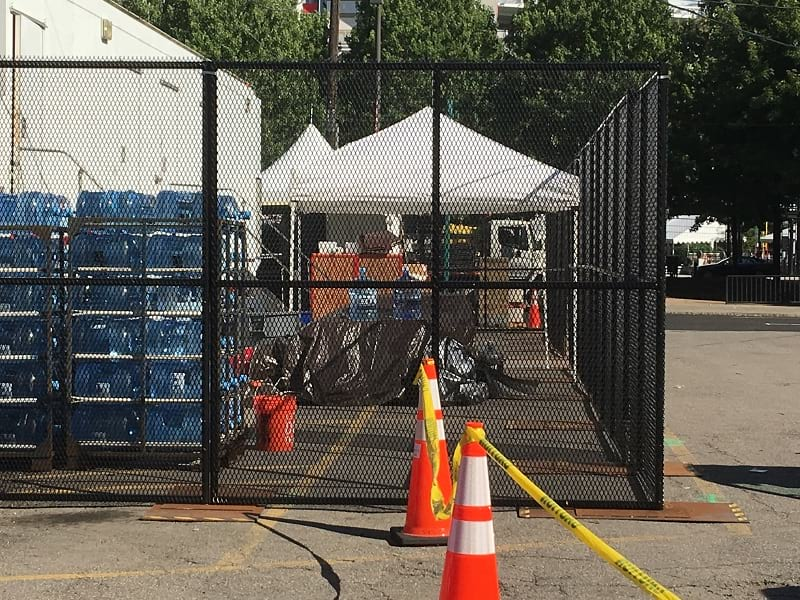 Unscalable Fence - ortress™ Anti-scale Portable Security Fence