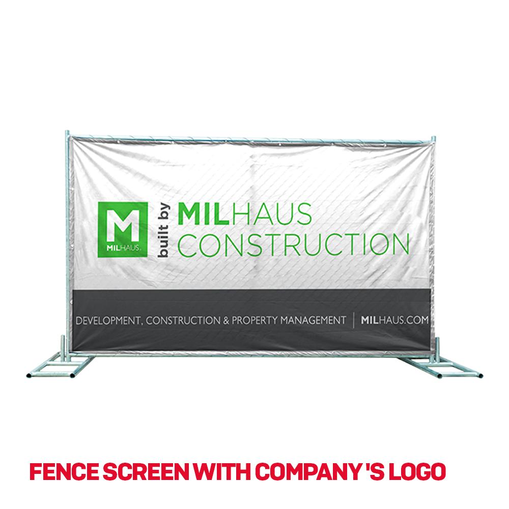 temporary fence screen