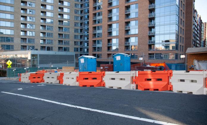 water barrier construction