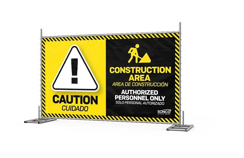 OSHA construction safety signs
